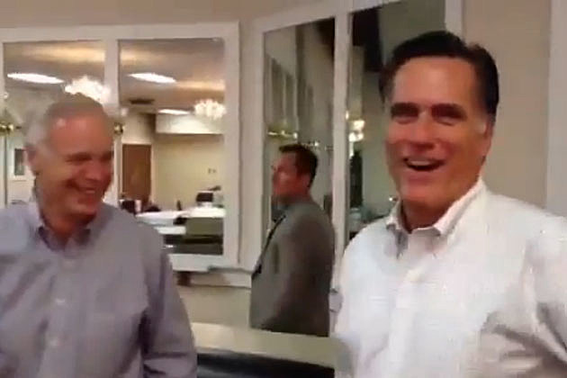 Mitt Romney Pranked by Staff for April Fool's Day