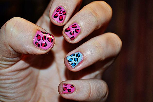 Nail Art Designs - Leopard Print