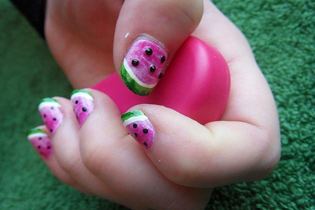 Nail Art Designs - Watermelon