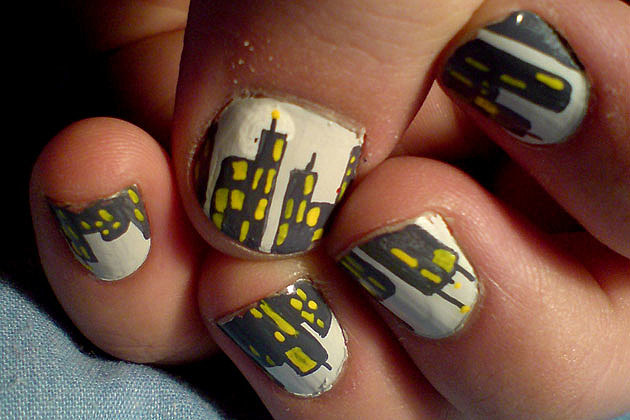 Nail Art Designs - City