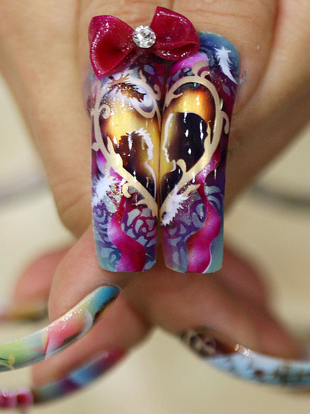 Nail Art Designs - Love