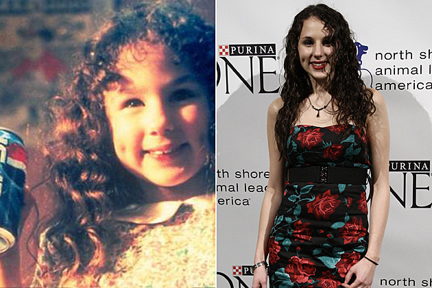 Pepsi girl Hallie Eisenberg then and now