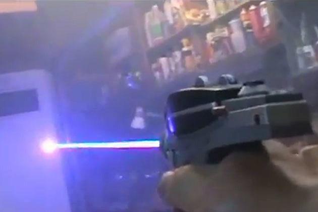 Phaser gun