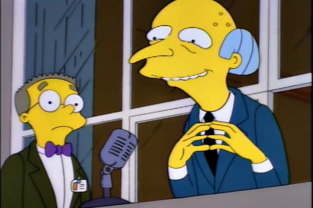 Richest Fictional Characters - C. Montgomery Burns
