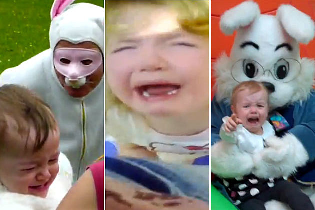 Kids Scared of the Easter Bunny