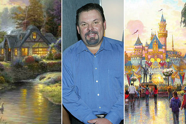 Thomas Kinkade paintings
