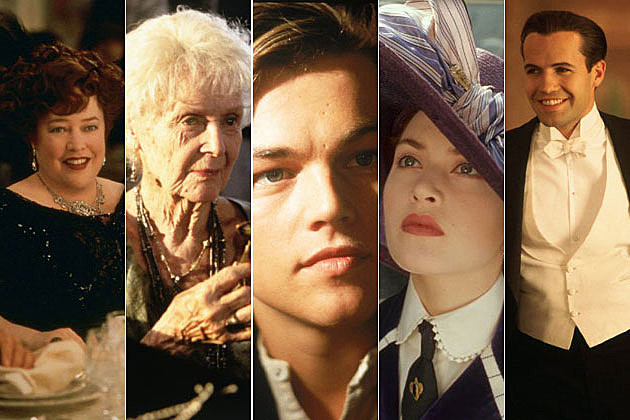 'Titanic' Cast - Then and Now