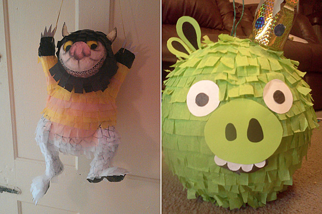 Where the Wild Things Are and Angry Birds Pinatas