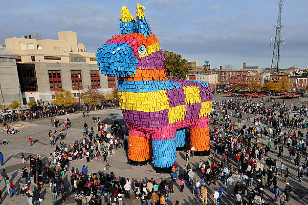 Largest Pinata in 2008