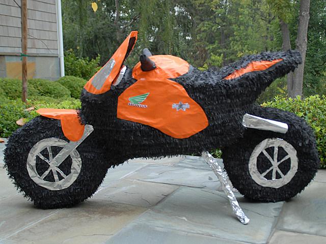 Motorcycle Pinata