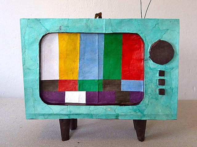 TV Pinata