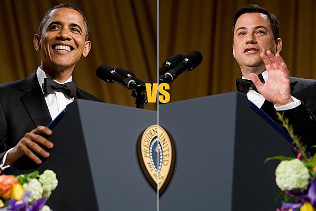 White House Correspondents' Dinner - President Barack Obama vs. Jimmy Kimmel