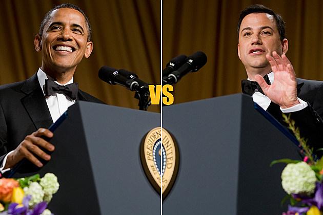 White House Correspondents' Dinner - President Barack Obama vs. Jimmy Kimmel