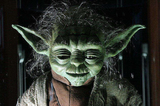 Star Wars: The Exhibition - Private View yoda