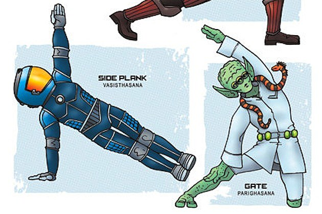 zombie yoga sci-fi rob osborne pirates aliens
