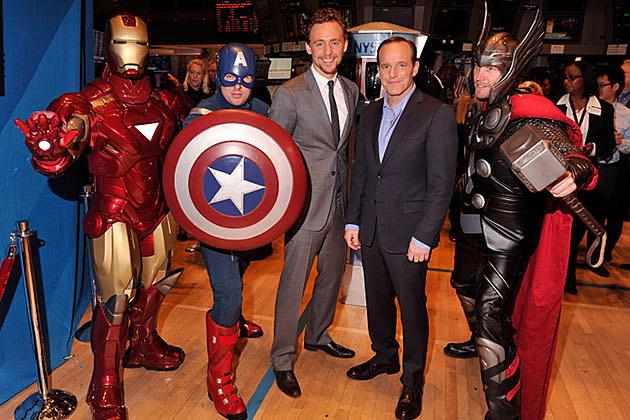 Avengers New York Stock Exchange