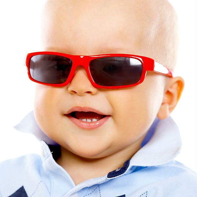 Baby With Sunglasses  10 babies wearing sunglasses who are ready for summer