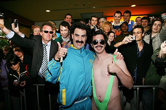 Borat fan mankini