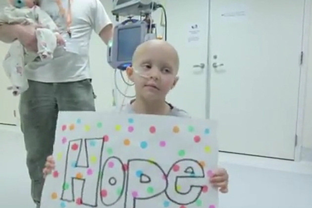 Cancer Patient Makes Inspirational Video