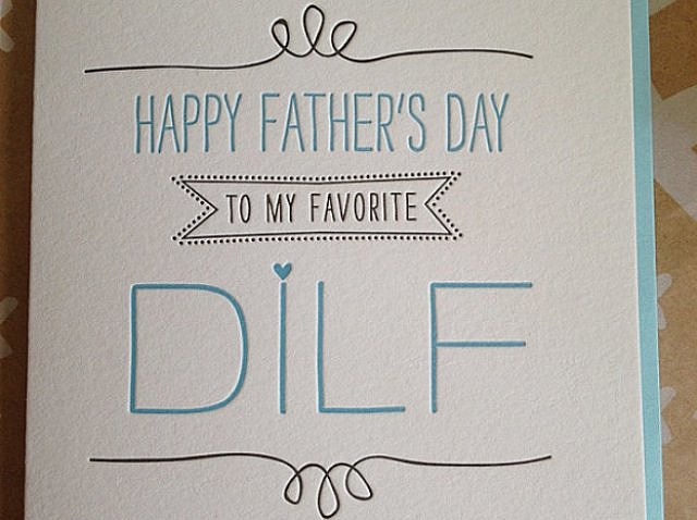 Father's, Day, holiday, greeting, card