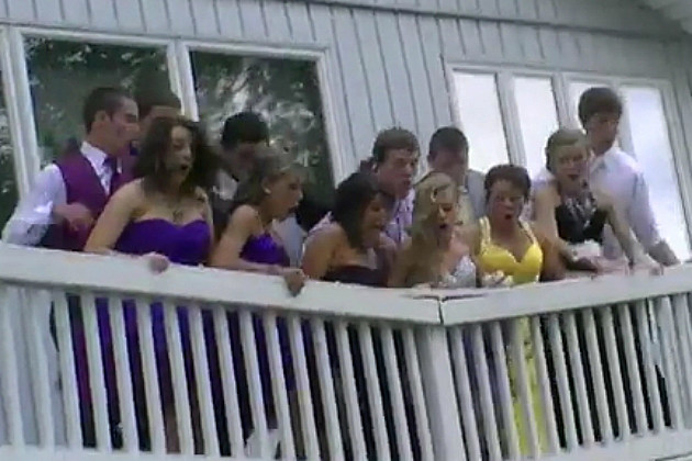Deck Collapses During Prom Photo