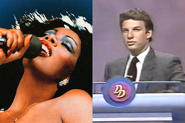 Donna Summer Marc Summers