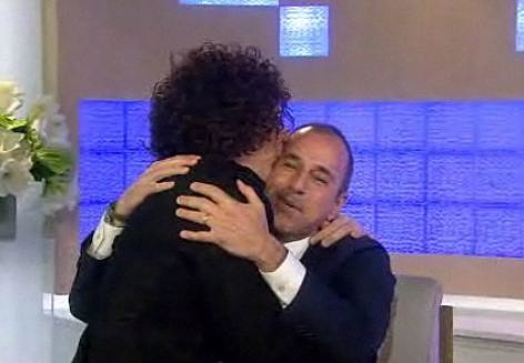 Howard Stern Kissing Matt Lauer