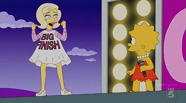 Lady Gaga The Simpsons