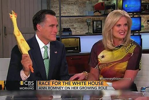 Mitt Romney Rubber chicken