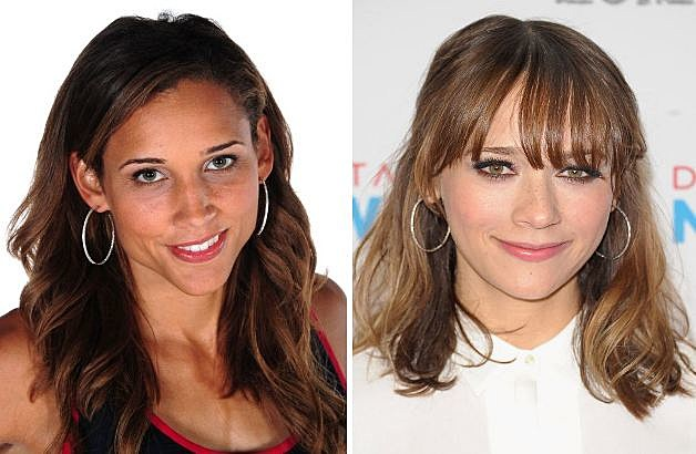 Rashida Jones Lolo Jones