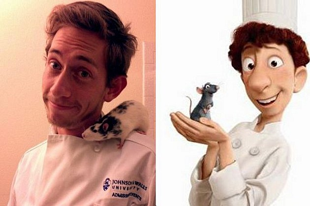 Ratatouille chef