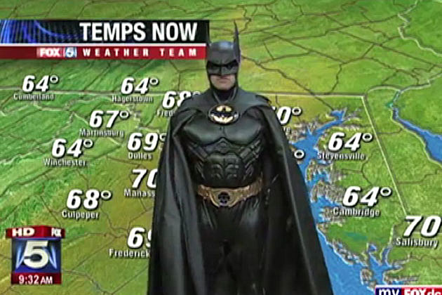 Batman weather