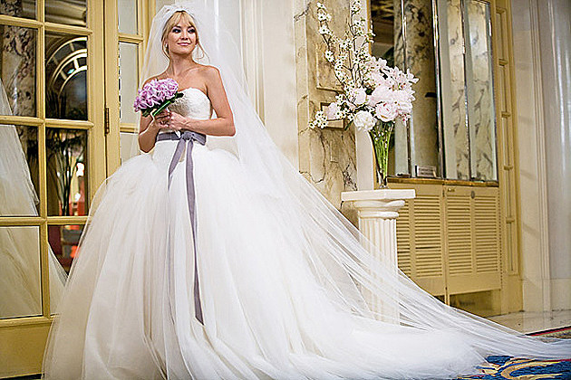 Vera Wang wedding dress from 'Bride Wars'