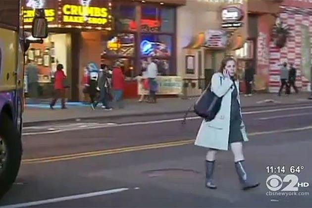 Careless Walking pedestrian