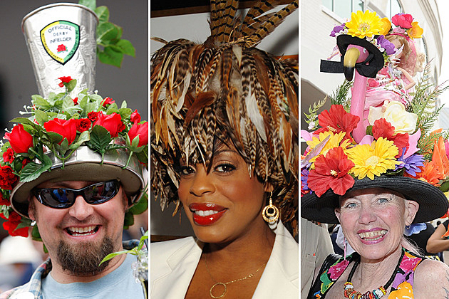 Crazy Kentucky Derby Hats