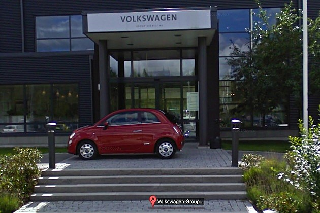 fiat volkswagen google street view maps