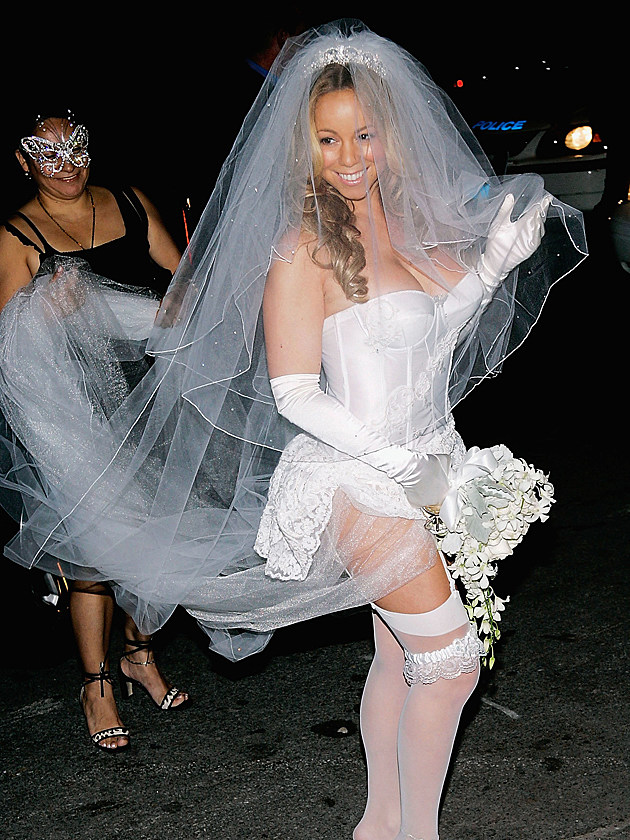 Mariah Carey's Wedding Dress/Halloween Costume