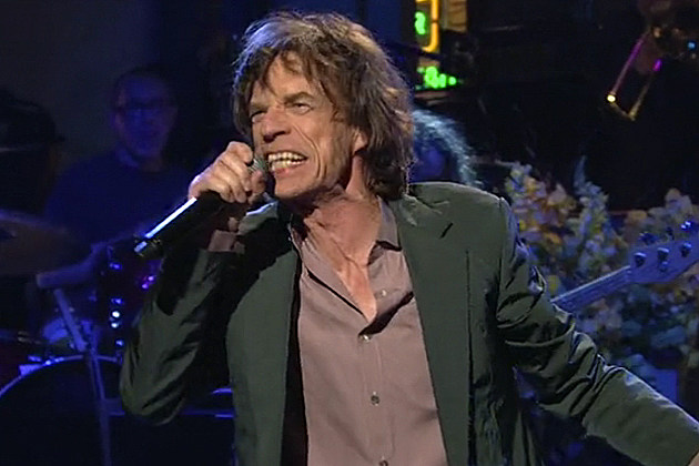 Mick Jagger 'SNL' 2012 Election Blues