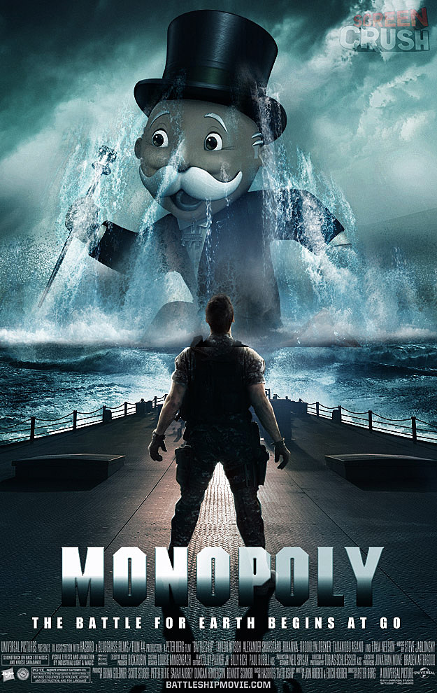 Fake Monopoly Movie Poster