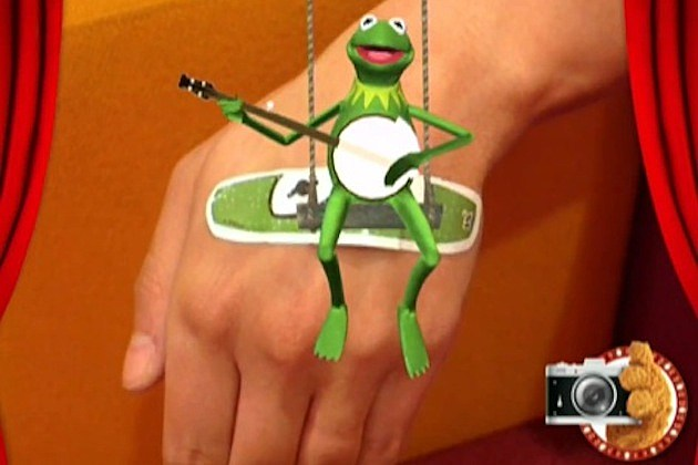muppet band aids augmented reality magic vision