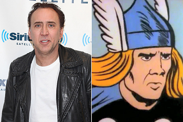 Nicolas Cage as Thor