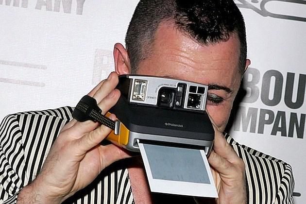 polaroid camera picture alan cummings