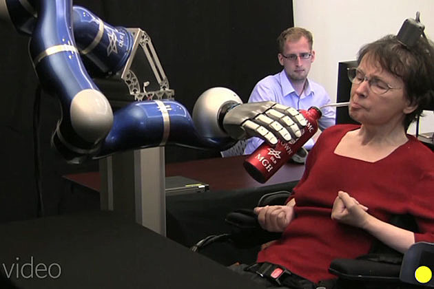 Robotic arm paralyzed