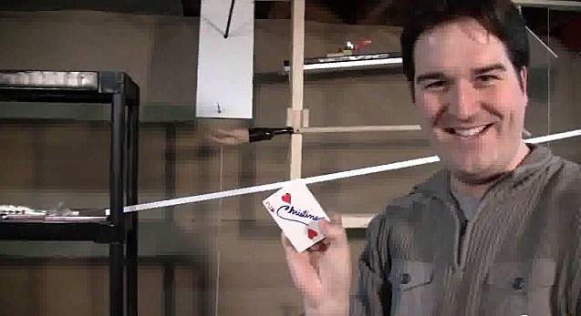 rube goldberg machine card trick