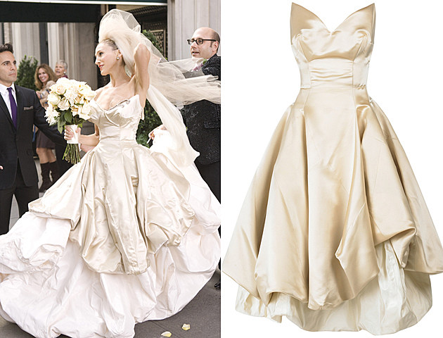 Vivienne Westwood's 'Sex and the City' wedding dress