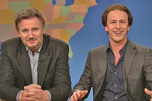 'SNL' - Liam Neeson and Nic Cage/Andy Samberg