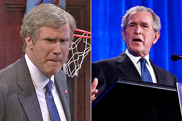 'SNL' - Will Ferrell as George W. Bush