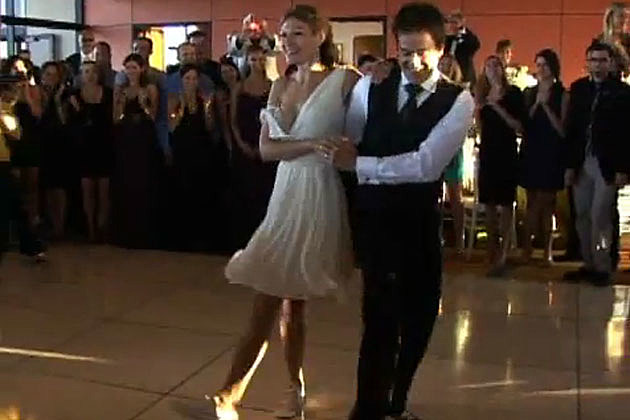 Wedding dance jive