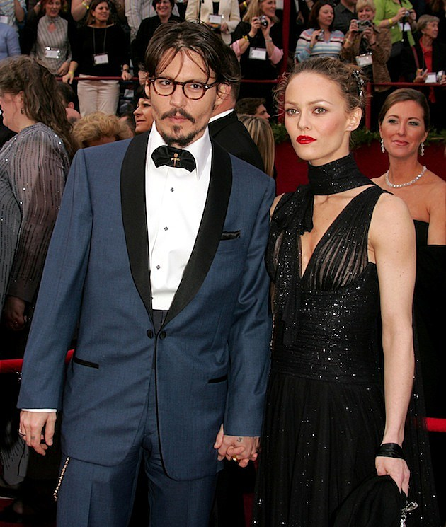 Johnny Depp and Vanessa Paradis 77th Annual Academy Awards