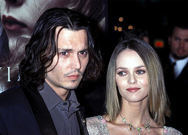 Johnny Depp and Vanessa Paradis 'Sleepy Hollow'' Premiere